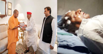 mulayam singh yadav admitted in medanta hospital gurugram