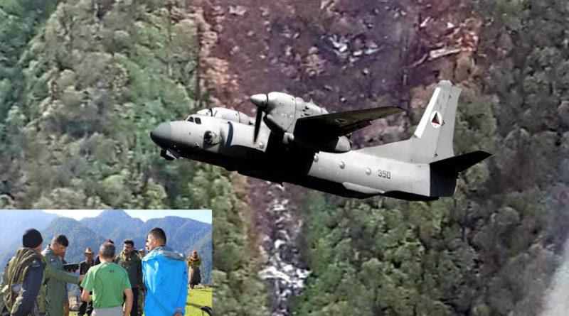 an-32 plane crash did not find any survivors in arunanchal pradesh