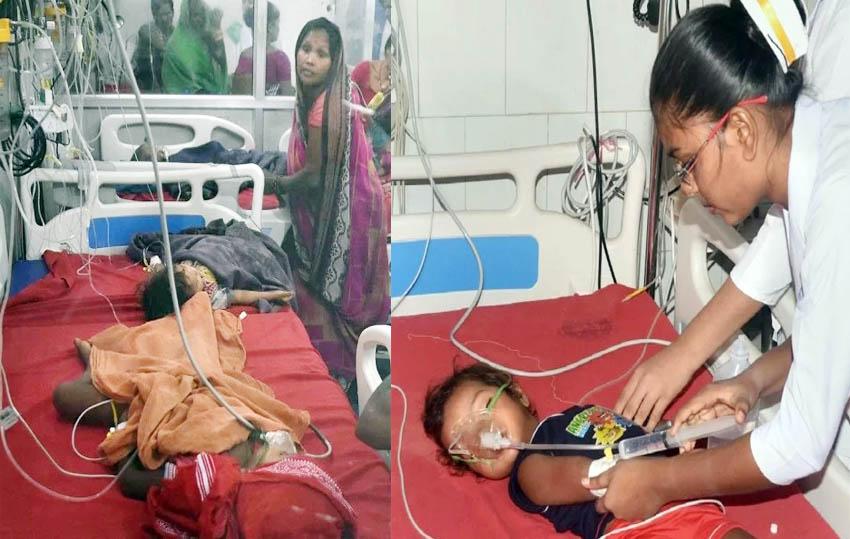 brain fever in muzaffarpur bihar kills 150 children