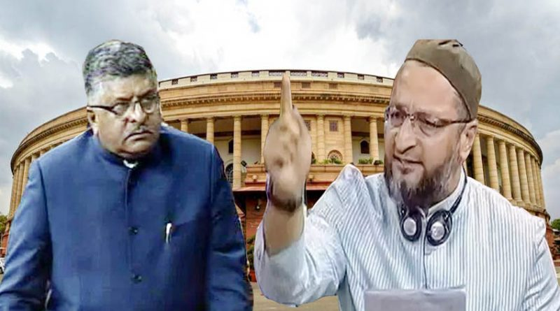 parliament session triple talaq bill shashi tharoor and owaisi comment