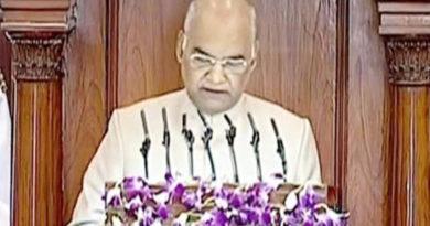 president ramnath kovind address Parliament Joint Session
