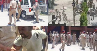 prisoners and police firing in central jail ludhiana