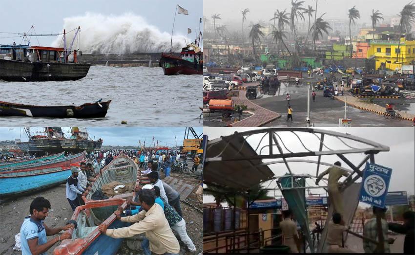cyclonic storm vayu will hit gujarat