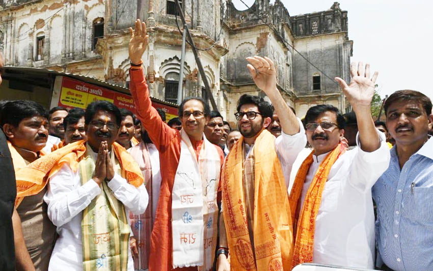 shivsena chief uddhav thackeray visit ayodhya ram mandir