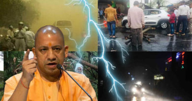 storm rain and hail fall 14 people died in uttar pradesh cm yogi orders immediate relief victims