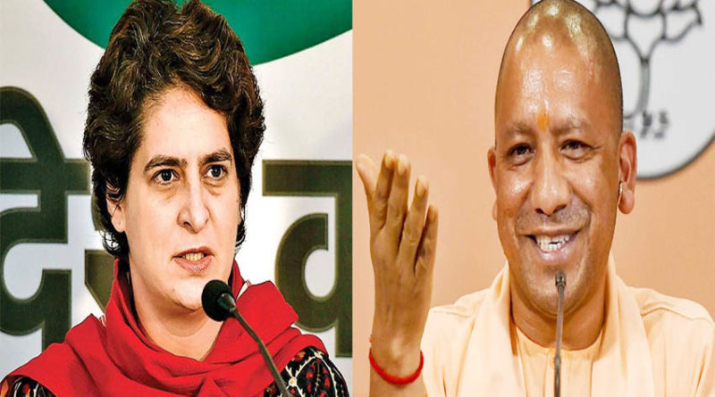 priyanka gandhi attacks yogi govt on twitter and retwitter up police