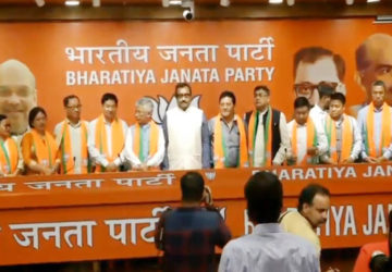 sikkim democratic front 10 leaders join bjp