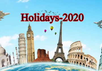 new year 2020 holidays calendar