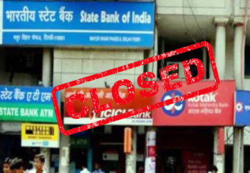 bank closed for six days union strike march 2020