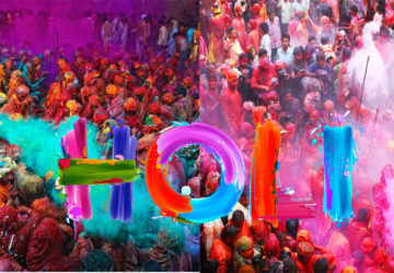 play holi fiercely and popular foods