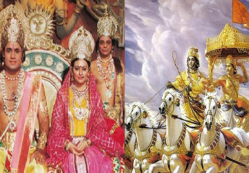 ramayan and mahabharat returns on doordarshan