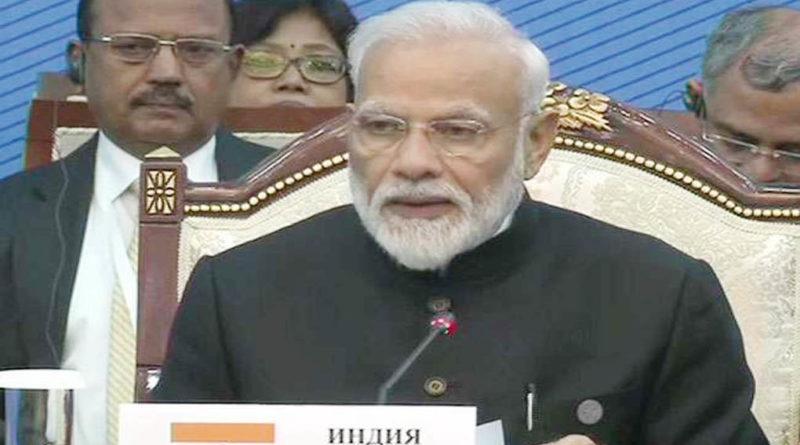 prime minister narendra modi bishkek sco summit 2019